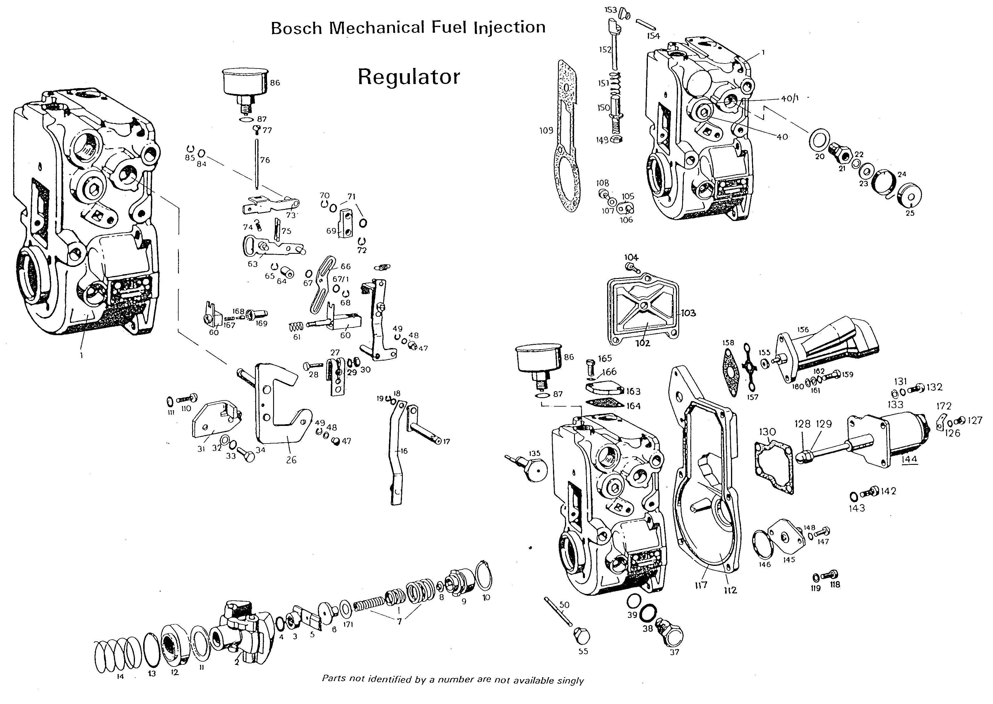 Bosch Ve Injection Pump Breakdown Pictures To Pin On